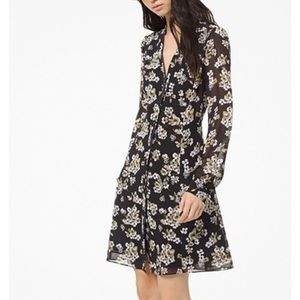 Michael Kors Georgette Shirt dress